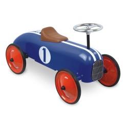 Voiture porteur rétro bleue VILAC
