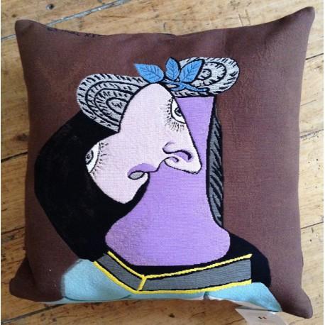 Coussin Portrait de Dora Maar PICASSO - JULES PANSU