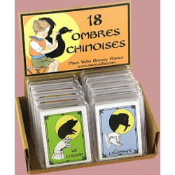 18 Ombres chinoises - Marc Vidal