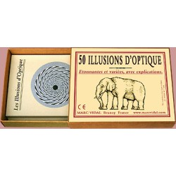 50 illusions d'optique - Marc Vidal