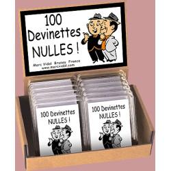 100 devinettes nulles - Marc Vidal