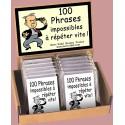 100 Phrases impossibles à répéter vite - MARC VIDAL