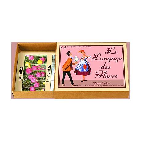 le langage des fleurs marc vidal la malle aux id es. Black Bedroom Furniture Sets. Home Design Ideas