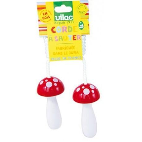 Corde à sauter champignon - VILAC