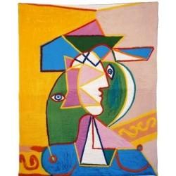 Femme au chapeau - Picasso-Jules Pansu
