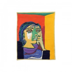 Tapisserie Portrait de Dora Maar - Picasso - Jules Pansu