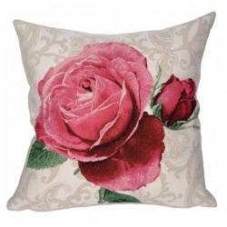 Coussin Rose de Versailles  - JULES PANSU