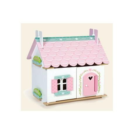 Petite Maison De Poupée Meublée Le Toy Van La Malle Aux Idées
