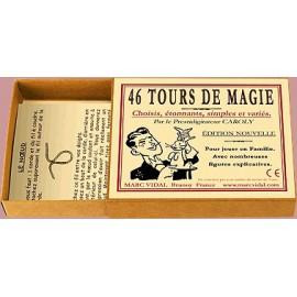 46 Tours de magie - Marc Vidal