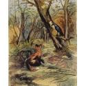 Puzzle Le corbeau et le renard